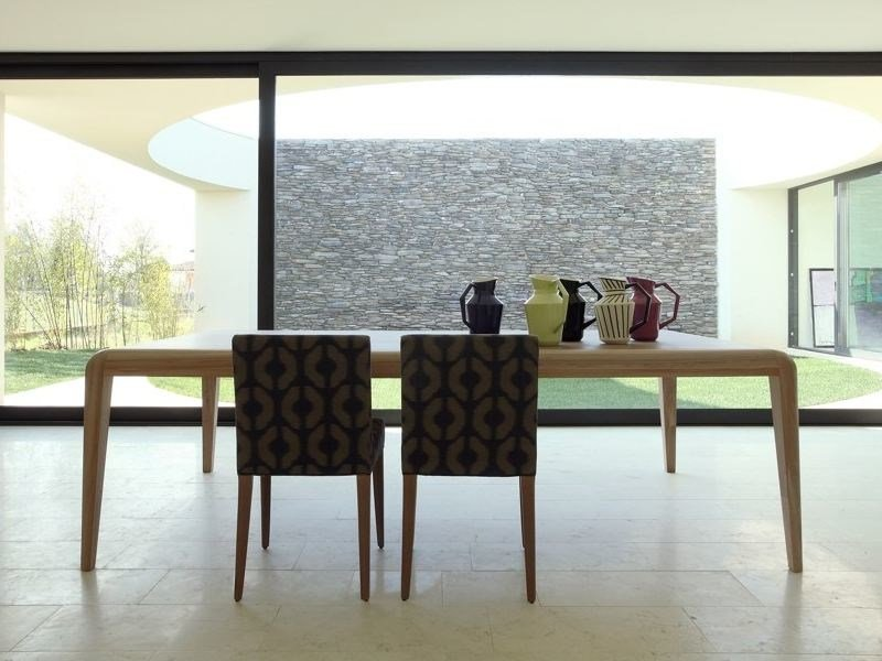 Rectangular wooden table CAPRI | Rectangular table by COLLI CASA
