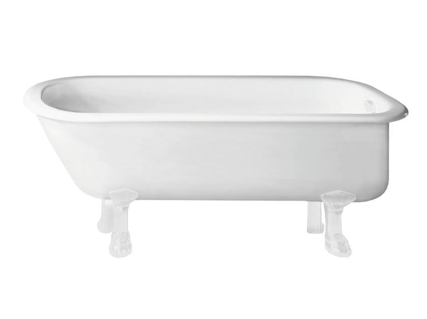 Freestanding bathtub on legs BETTEROMA by Bette