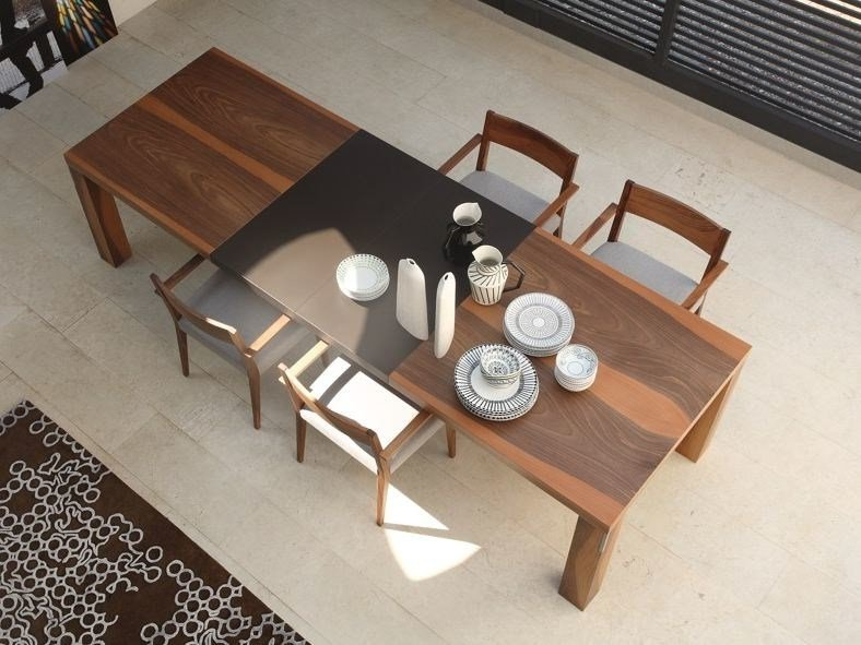 Extending rectangular wooden table FIRENZE | Extending table by COLLI CASA