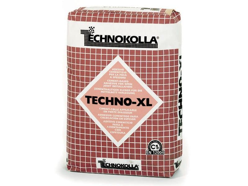 Cement-based glue TECHNO-XL by TECHNOKOLLA - Sika