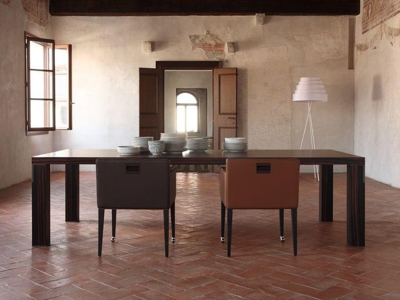 Rectangular wooden table FIRENZE   Wooden table by COLLI CASA