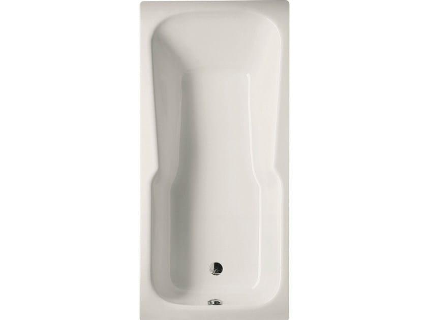 Vasca da bagno in acciaio smaltato con doccia betteset by - Vasca da bagno acciaio prezzi ...