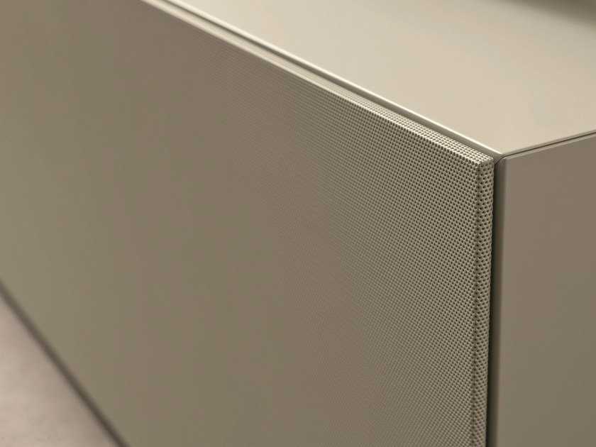 Lacquered metal cabinet door YOU_SOUND by Presotto