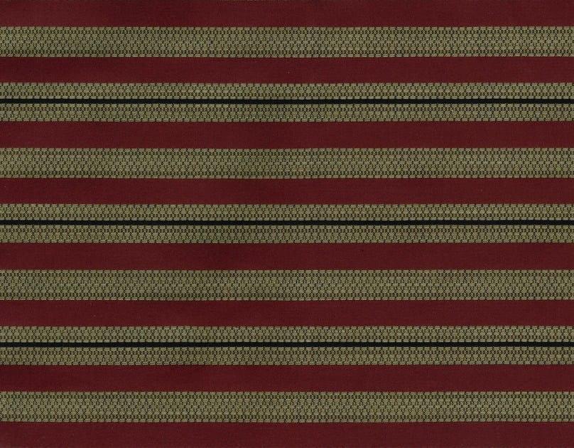 Striped cotton fabric JERICHO  2 by KOHRO