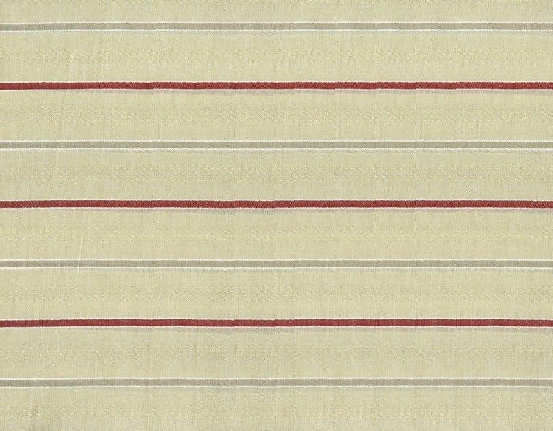 Striped cotton fabric BARRICADE by KOHRO