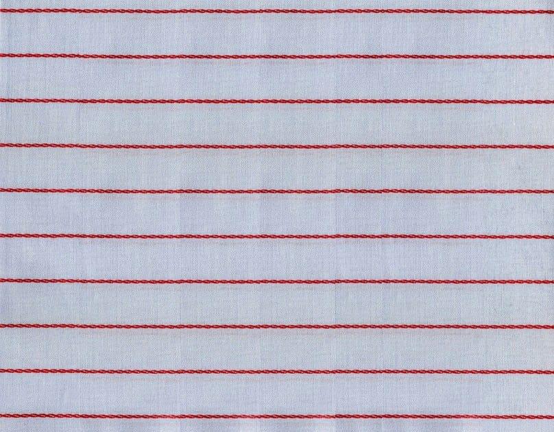 Striped cotton fabric HARTFORD by KOHRO