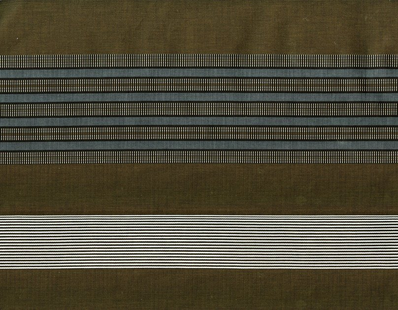 Striped cotton fabric ROEHAMPTON 1 by KOHRO