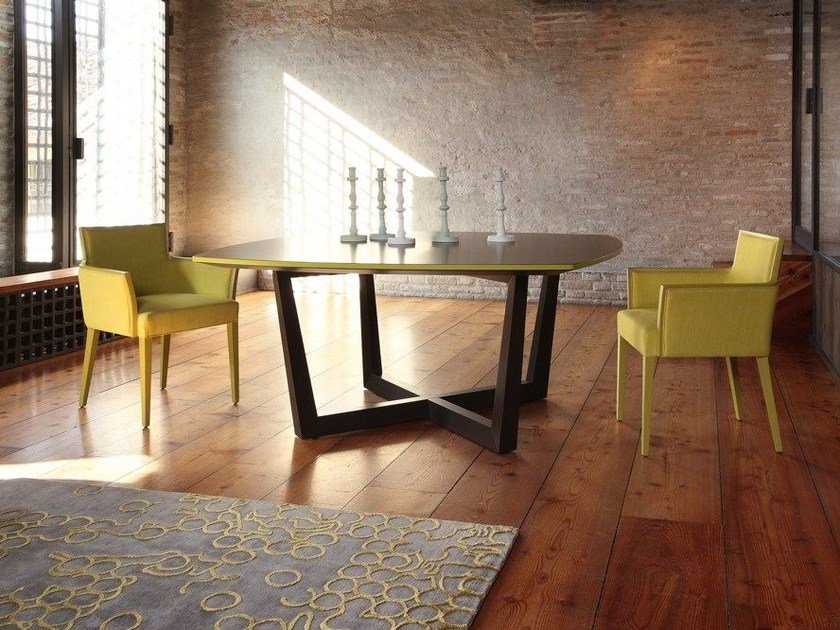Lacquered square table TORINO   Square table by COLLI CASA