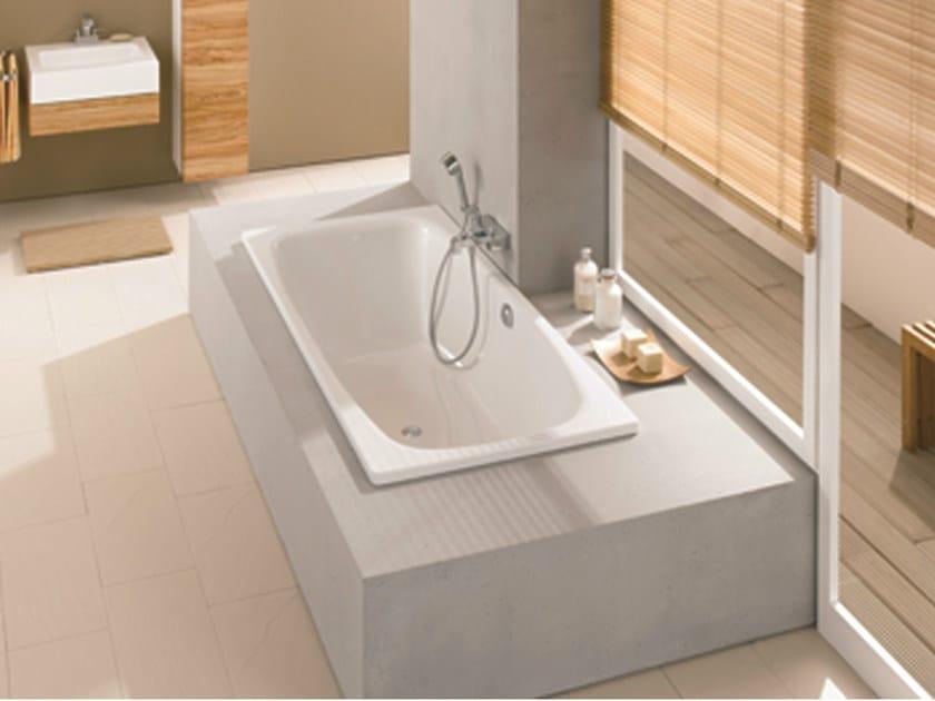 Vasca Da Bagno Acciaio Porcellanato : Vasca da bagno in acciaio smaltato da incasso bettesteel duo by bette