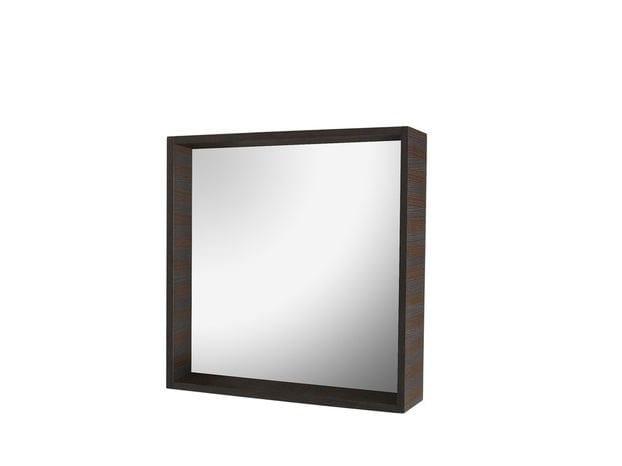 Square framed mirror VOLTERRA | Square mirror by COLLI CASA