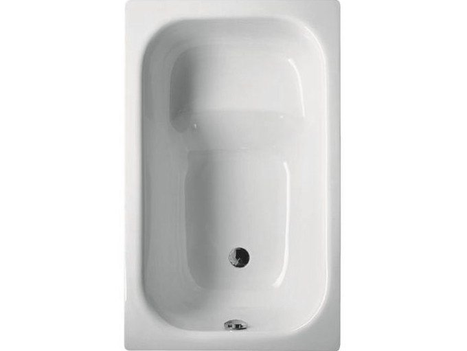 Seated rectangular bathtub BETTEHIP BATH by Bette