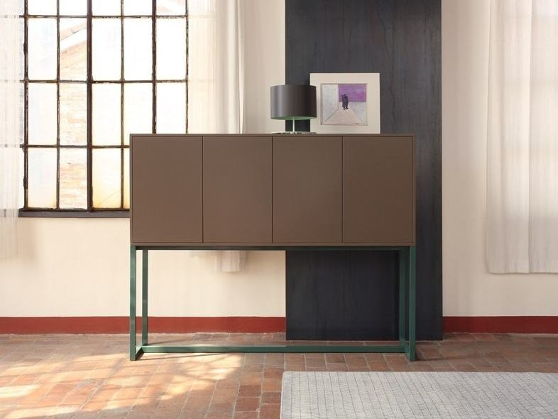 Lacquered highboard with doors MILANO | Highboard by COLLI CASA