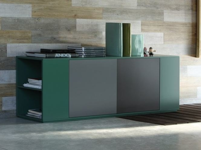 Lacquered sideboard with doors VOLTERRA | Sideboard by COLLI CASA