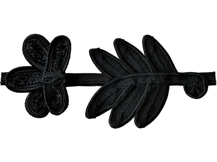 Fabric trimmings BLACK DAISY by COLLI CASA