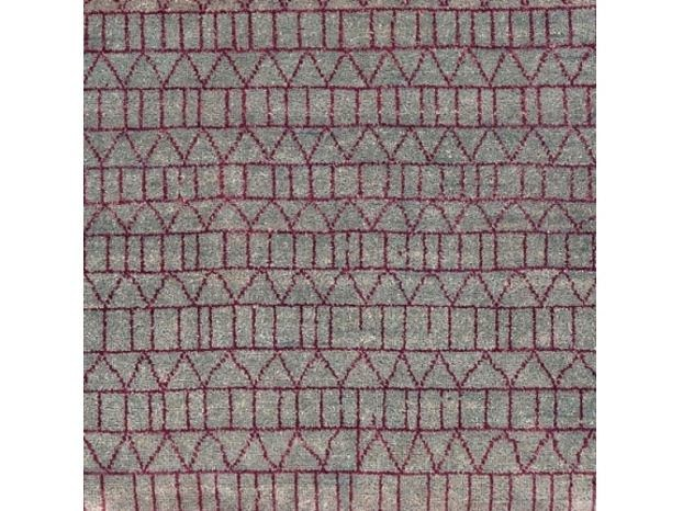 Patterned handmade wool rug CONTINUUM by COLLI CASA
