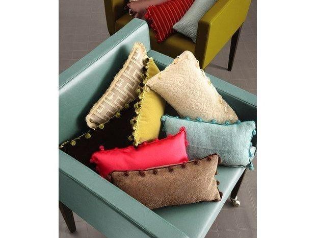 Fabric cushion Cushions by COLLI CASA
