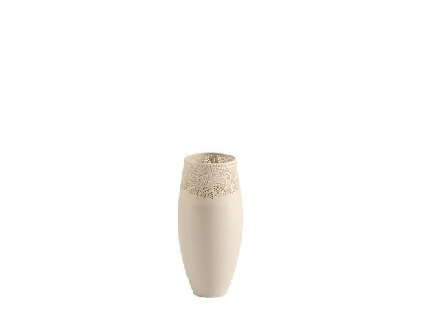 Porcelain vase VOILE by COLLI CASA