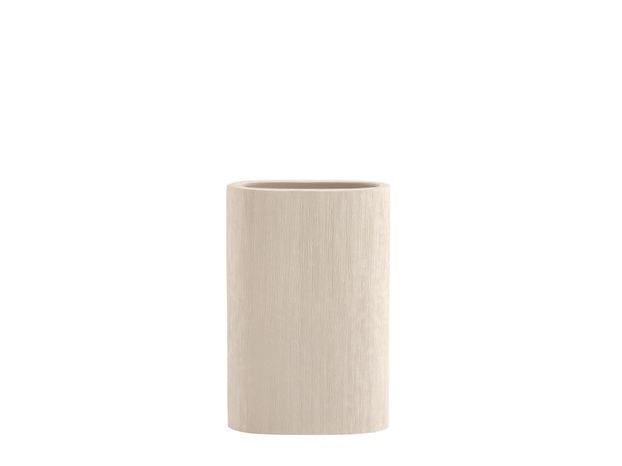 Ceramic vase KANAAL by COLLI CASA