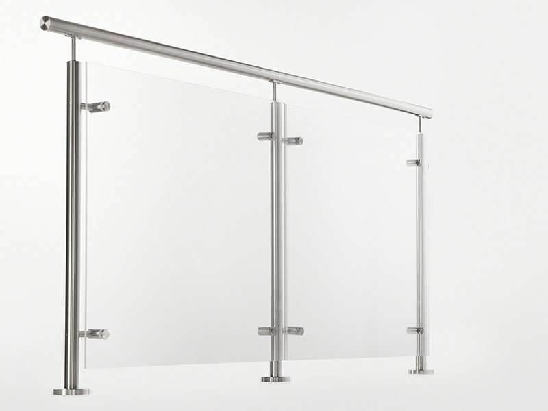 Glass and steel Window railing ULTRA RANGE | Balustrade by Q-RAILING ITALIA
