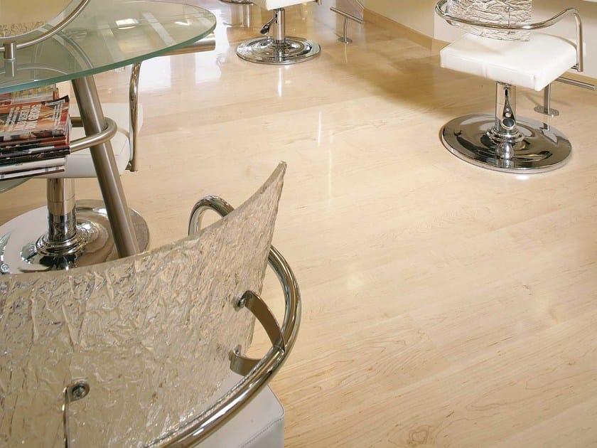 Canadian Hard Maple wood floor PREGIO PLANKS | Maple parquet by CADORIN GROUP