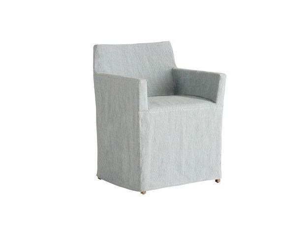 Solid-color fabric chair cover RAPALLO | Fabric chair cover by COLLI CASA