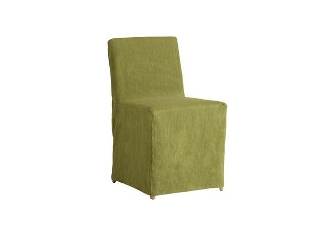 Solid-color fabric chair cover TAORMINA | Chair cover by COLLI CASA