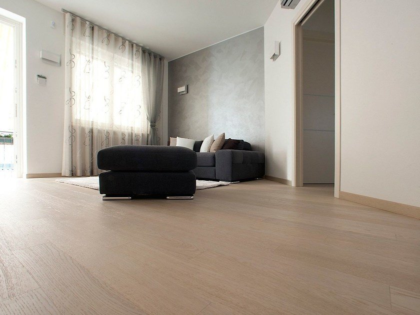 Fireproof wooden flooring LOUNGE 15 by MENOTTI SPECCHIA