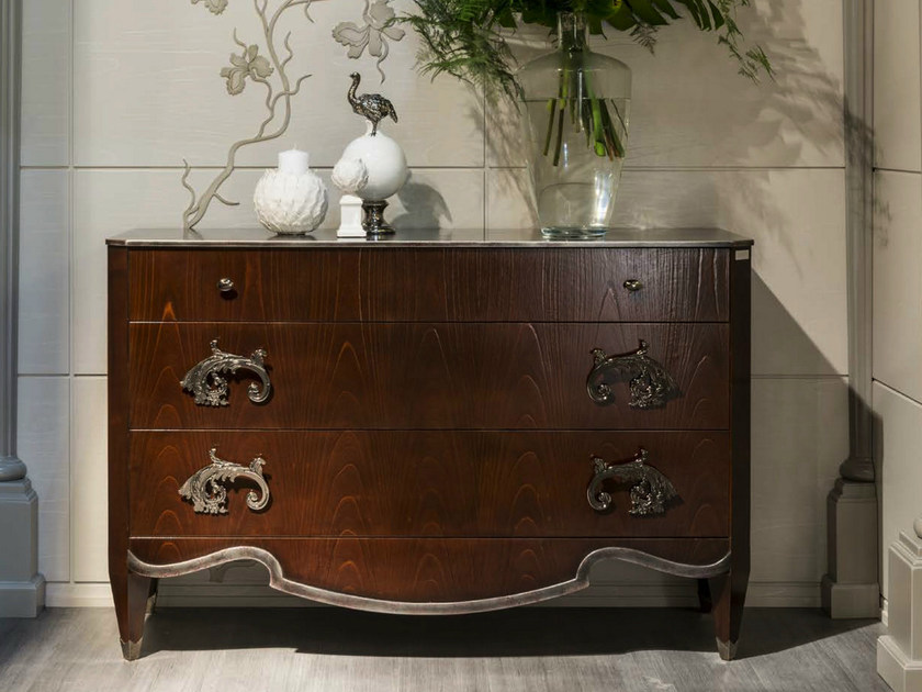 Wooden chest of drawers MONTMARTRE | Chest of drawers by Bizzotto