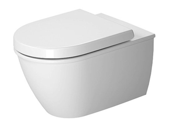 Wall-hung ceramic toilet DARLING NEW | Wall-hung toilet by Duravit