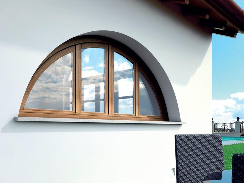 Wooden casement window ALASKA | Window by BG legno