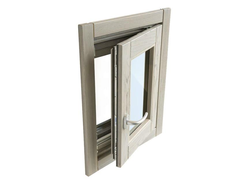 Ash casement window ALASKA   Casement window by BG legno