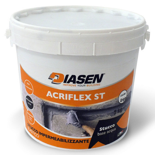 Cement-based waterproofing product ACRIFLEX ST by DIASEN