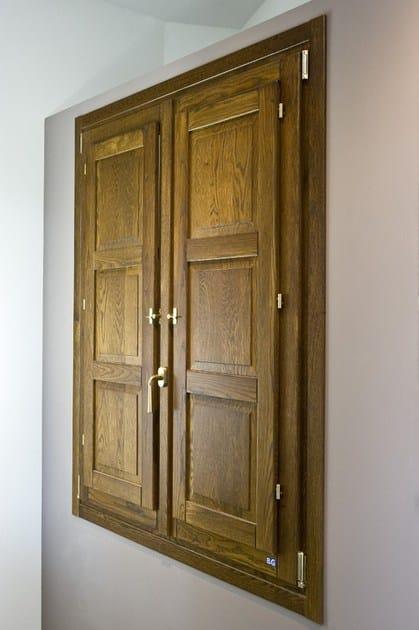 Ash window / panel shutter SCURETTO by BG legno