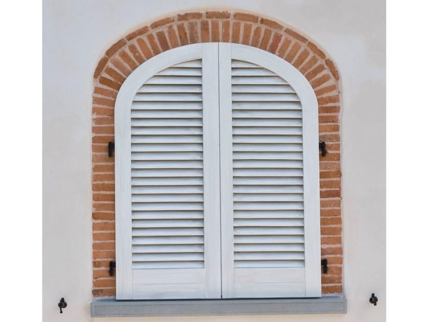 Wooden shutter VIAREGGINA by BG legno