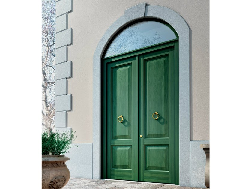 Exterior wooden entry door FIRENZE | Entry door by BG legno