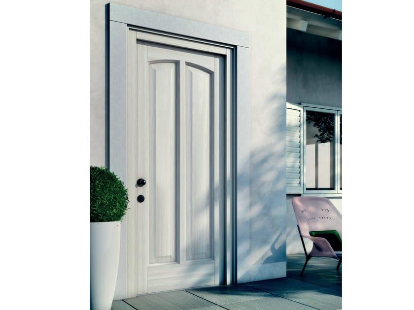 Exterior wooden entry door MONTECARLO   Entry door by BG legno