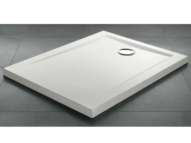 Piatto doccia rettangolare in acrilico zeroquattro - Piatto doccia 140x90 ...