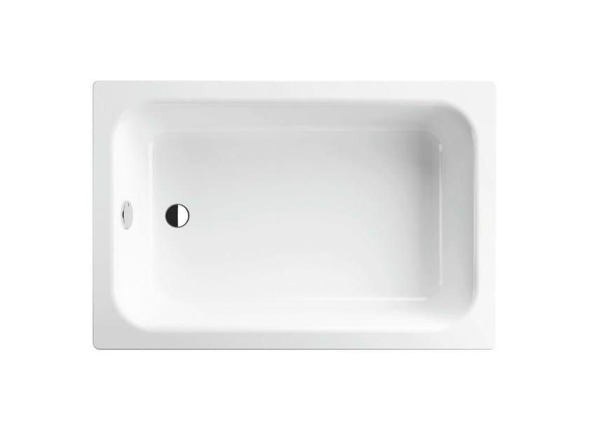 Rectangular enamelled steel shower tray TIEF | Rectangular shower tray by Bette