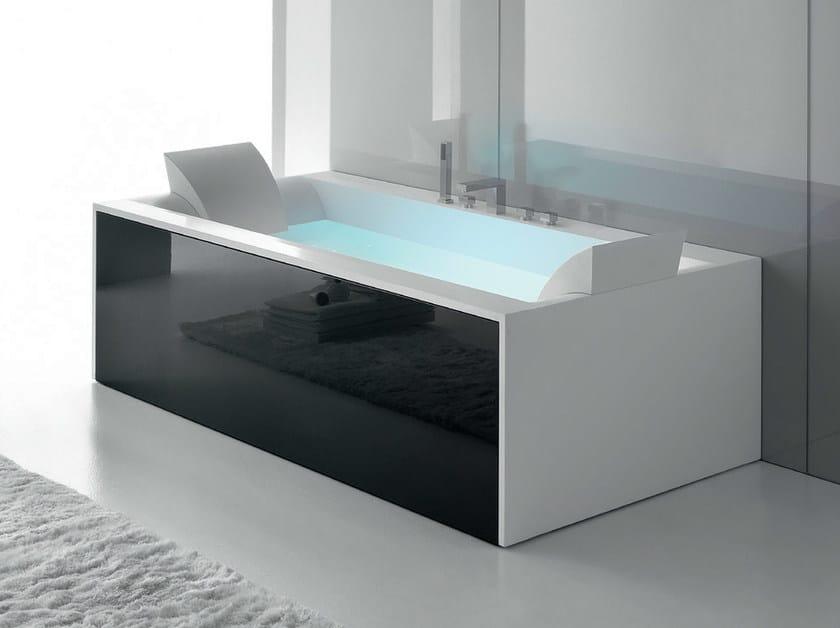 Whirlpool Corian® bathtub SENSUAL 190 x 100 by Gruppo Geromin