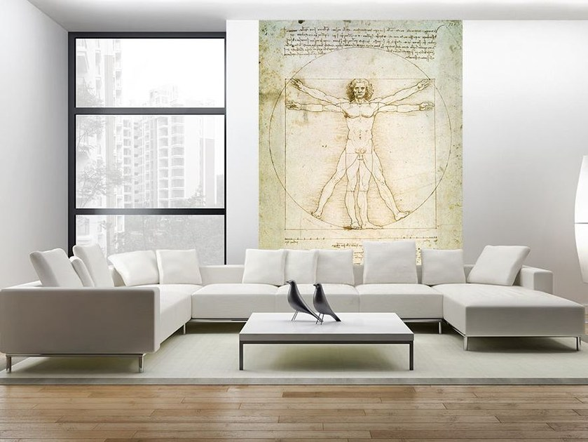 Artistic wallpaper THE PROPORTIONS OF THE HUMAN FIGURE by MyCollection.it