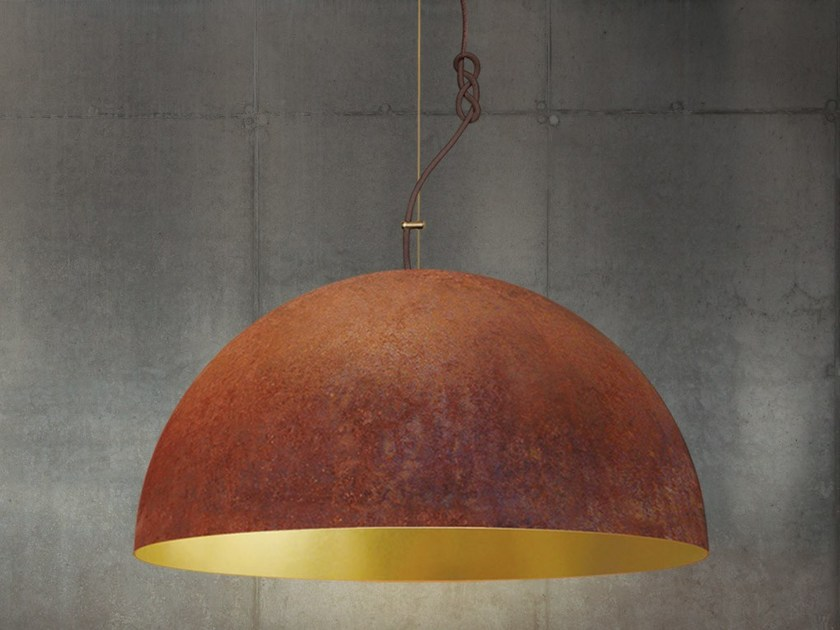 Handmade steel pendant lamp THE QUEEN EXTRA LARGE by Mammalampa