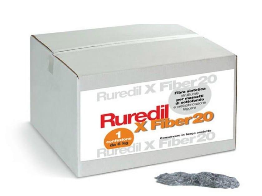 Reinforcing fibres RUREDIL X FIBER 20 by RUREDIL