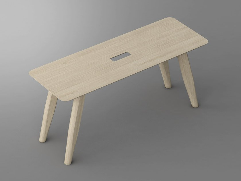 Solid wood bench AETAS | Bench by Vitamin Design