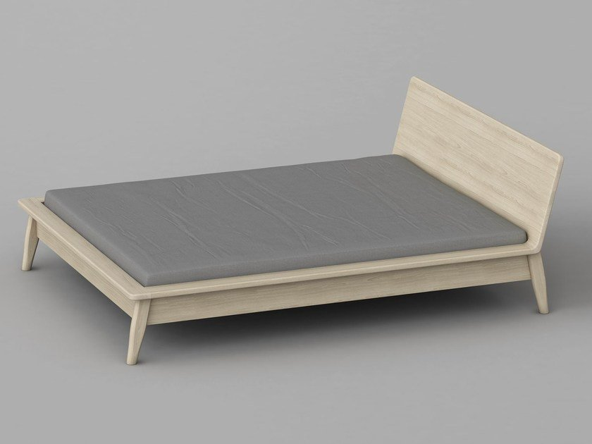 Solid wood double bed AETAS | Bed by Vitamin Design