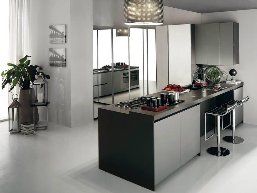 Cucina componibile CRETA FLUTE By Del Tongo