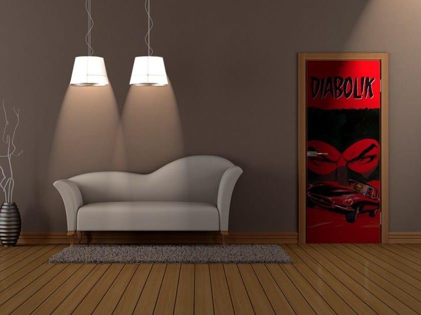 Door sticker ALBA DI SANGUE by MyCollection.it