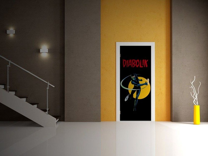 Door sticker IL PUGNALE by MyCollection.it