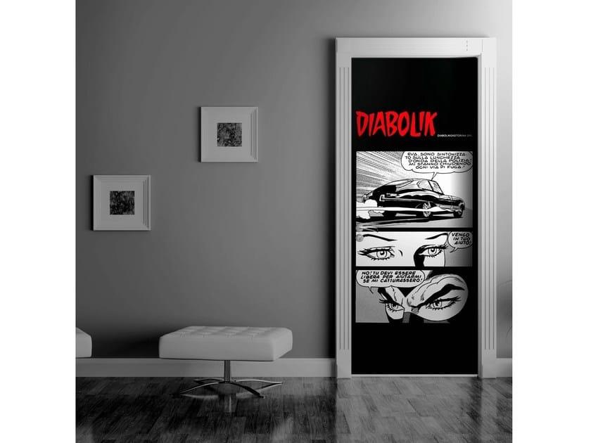 Door sticker INAFFERRABILI by MyCollection.it