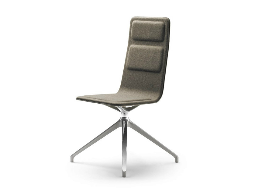 Trestle-based fabric task chair LAIA | Trestle-based task chair by ALKI