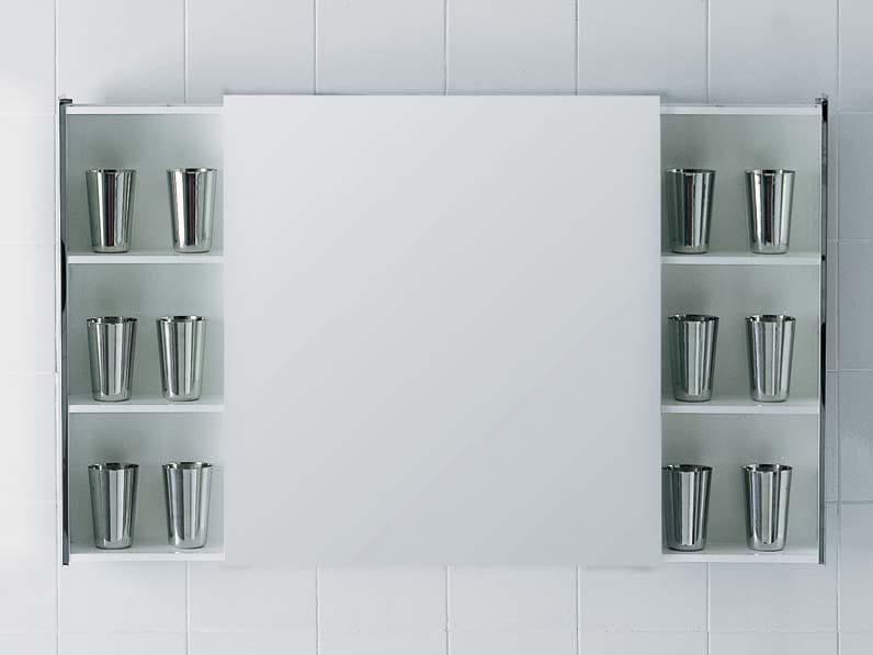 LEFT/RIGHT | Specchio con contenitore